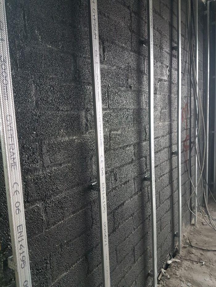 airtight wall system blowerproof